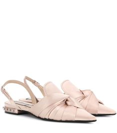 Crafted from pale pink satin 910c5c07696