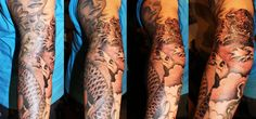 #Full Arm #Oriental #Black & Grey #Tatto BY GOOS BRUSCHI