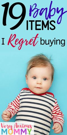 Baby items I regret buying. There are several newborn essentials that you don't really need and that can be a complete waste of money. Parenting Advice, Kids And Parenting, Natural Parenting, New Parents, New Moms, Baby Must Haves, Baby Registry Must Haves, Newborn Schedule, All Family