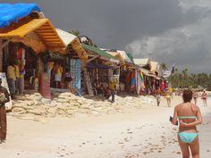 Shopping along Bavaro Beach in Punta Cana