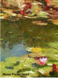 Monet Preset Detail