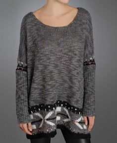 SOUTH MOON UNDER - Free People Yarn Pullover