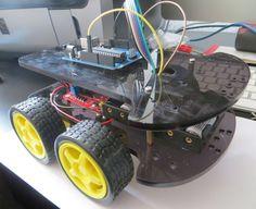 Orion Explorer 1 - Easy Homemade Arduino Robot Kit