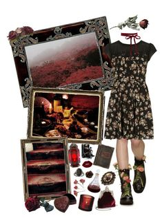 Sin in My Heart by beyond-redemption on Polyvore featuring polyvore, moda, style, Dorothy Perkins, House of Harlow 1960, Avalaya, Her Curious Nature, Lime Crime, NOVICA, iittala, Jayson Home, fashion and clothing
