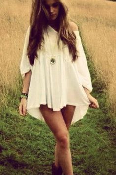 Love it by Njeeda.. i want some flowy tunic shirt/dress like this but cant find them anywhere :(