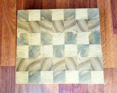 Handmade End Grain Cutting Boards