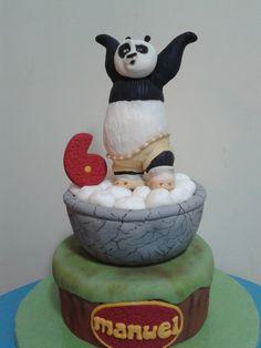 Dark Baker: Tarta Kung fu panda para Manuel