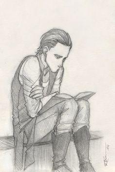 Reading by CaptBexx on DeviantArt