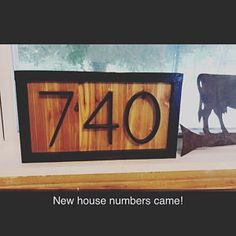 Cedar House Numbers CedarAddress Sign Black House Numbers | Etsy Cedar Homes, Address Plaque, Minwax, Home Upgrades, Vinyl Siding, Wood Background, Special Characters, House Numbers, Natural Texture