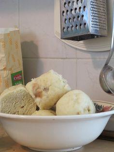 Czech Bread Dumplings Houskové Knedlíky