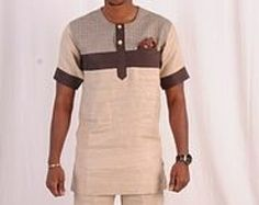 Vêtements africains pour hommes  Dashiki  homme africain African Dresses Men, African Attire For Men, African Shirts, Latest African Fashion Dresses, African Men Fashion, African Wear, Mens Fashion Wear, Men Wear, Nigerian Men Fashion