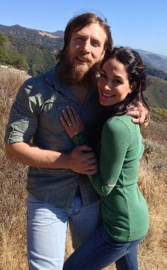 Brie Bella, Daniel Bryan not into WWE whatsoever but this is the cutest couple in the world.