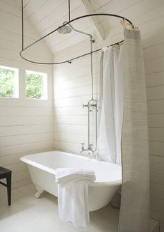 Vintage Farm Bathrooms | from Gens Du Monde