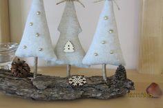 Dekorácie - Vianočné stromčeky na kôre - 6093341_