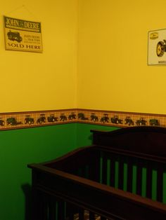 Gageu0027s John Deere Room :)