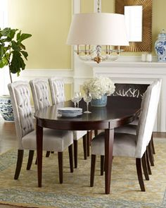 -5U9C Haute House Sweetheart Dining Chair & Allerton Dining Table