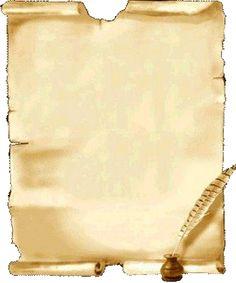 Imagens de Pergaminhos em PNG - CALLY'S DESIGN-Kits Personalizados Gratuitos