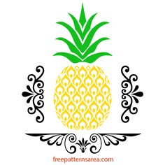 Pineapple Stencil For Doormat Lydi Out Loud Summer