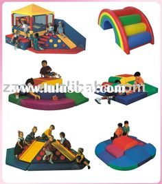 Traditional toddler Soft play equipment