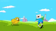 Adventure time high five