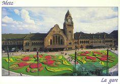gare de Metz, Lorraine
