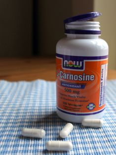 NOW Supplements, L-Carnosine (Beta-Alanyl-L-Histidine) 500 mg, Healthy Aging, 100 Veg Capsules Amino Acid Supplements, Protein Supplements, Full Body Weight Workout, Muscle And Nerve, Gaps Diet, Yogurt Cups, Alternative Treatments, Medical Research, Healthy Aging
