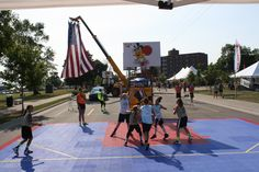 The Gus Macker 3 on 3 Basketball Tournament is a family oriented, must do summer event, in Sault Ste. Marie, Michigan. Register to play now!!