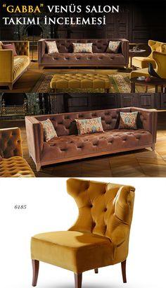 Bugünkü incelememiz Gabba mobilya markasına ait Venüs Salon Takımı!