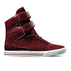 Supra TK Society Blue Crackle Burgundy Available ❤ liked on Polyvore featuring shoes and sneakers