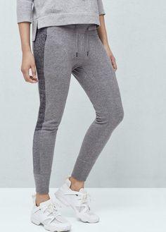 Yoga - pantalón jogging felpa | MANGO
