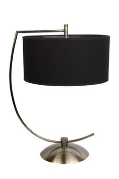 deaken table lamp antique brass - I have no idea where it would go I just like it.