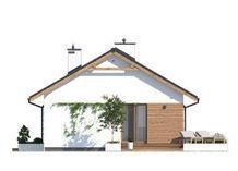 DOM.PL™ - Projekt domu MT Imbir 4 paliwo stałe CE - DOM MS4-69 - gotowy koszt budowy Gazebo, Outdoor Structures, Projects