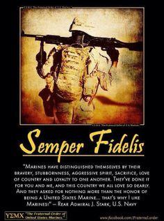 USMC  Semper Fidelis