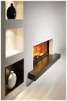 BRUNNER Kamin 45-101. Simpel, modern, schön - die Vielfältigkeit der BRUNNER Kamine kennt keine Grenzen. BRUNNER fireplace 45-101. Simple, modern, beautiful - there's no limit to the diversity of BRUNNER fireplaces.
