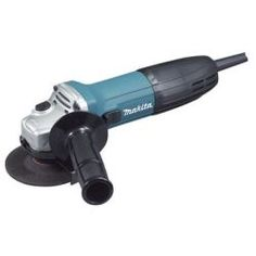 """Electric 4"""""""""""""""" Angle Grinder, 6 Amp Motor, 11,000 RPM, with Locking On/Off Switch, Side Handle"""