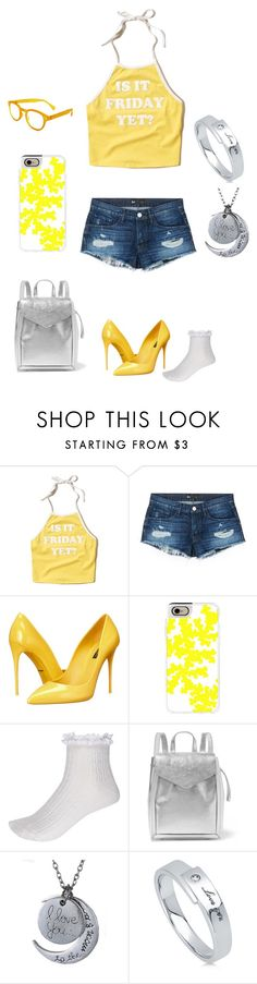 """""""Riana"""" by liese-aerbeydt on Polyvore featuring mode, Hollister Co., 3x1, Dolce&Gabbana, Casetify, River Island, Loeffler Randall, BERRICLE en See Concept"""