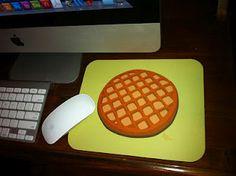 Waffle mousepad