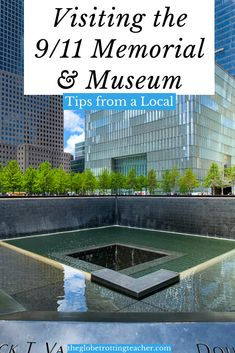 Visiting the 9/11 Memorial & Museum? Use this local New York City guide to get the tips you need to prepare for and fully take in the experience of visiting the 9/11 Memorial & Museum. #NYC #911Museum #NewYorkCity Travel Usa, Travel Tips, Travel Guides, Travel Around The World, Around The Worlds, Museums In Nyc, Us Travel Destinations, New York City Travel, Memorial Museum