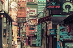 street signs in seoul
