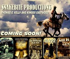 """SnakeBite Productions - """"When the Storm God Rides"""" Thomas R. Kelley, Kimber Eastwood"""