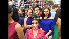 """This is the taping of the coming soon is the 2016 ABS-CBN Christmas Station ID: """"Isang Pamilya Tayo,"""" which means """"We Are One Family Together."""" We, as Kapamilyas and Filipinos in the Philippines and all over the world believe that together, we are one family together, regardless of the way of life. Robert Labayen of ABS-CBN's CCM will create the Christmas station ID this year. #ABSCBNChristmasStationID #IsangPamilyaTayo Child Actresses, Child Actors, Ian Veneracion, Half Filipino, Pretty Star, Star Magic, Kathryn Bernardo, All Grown Up, Way Of Life"""