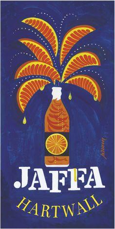 Jaffa poster by Erik Bruun