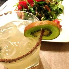 Midnight Margarita - 50ml (2 oz) Tapatio 110 - 30ml (1/2 oz) lemon juice - 20ml (2/3 oz) honey sugar syrup*2 - 1 tsp fresh thyme leaves - kiwi wheel - pepper mix*3  http://www.alcoholprofessor.com/2013/07/finally-a-tequila-bad-boy-with-a-good-heart/  for more method