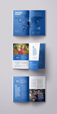 Laura Lin - Visual Designer - ANDE Impact Annual Report // PrintYou can find Annual report design and more on our website.Laura Lin - Visual Designer - ANDE Impact Annual Re. Brochure Cover, Brochure Layout, Brochure Template, Annual Report Layout, Annual Report Covers, Annual Reports, Cover Report, Layout Design, Web Design