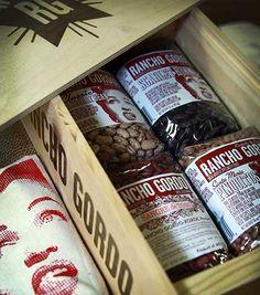 Rancho Gordo: Great Beans Wooden Gift Box