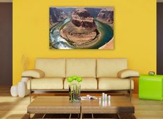 colorado river,	horseshoe bend,	river photography,	arizona landscape,	colorado landscape,	arizona wall art,	colorado canvas art,	landscape wall art,	horseshoe bend art,	4 panel canvas art,	nature canvas art	,split panel canvas,	4 panel art