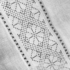 Drawn Thread, Hardanger, Embroidery, Cut Work