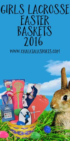 New for 2016, these Girls Lacrosse Easter Baskets are sure to be a hit with any lax girl!