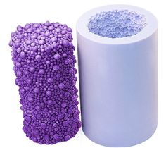 Candle Molds Soap Mold Big Bubble Cylinder Flower
