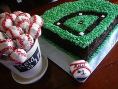 baseball birthday theme